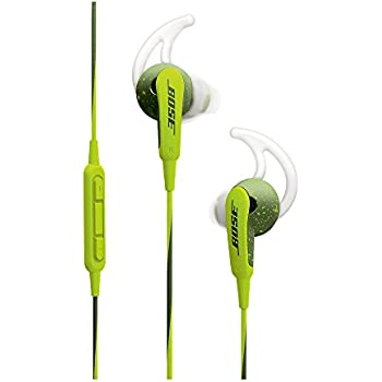 Bose SoundSport In-Ear Headphones with Mic (Energy Green) for Apple Devices