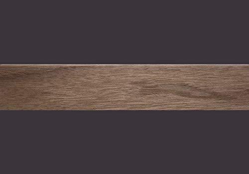 Furnierkante Nussbaum amerikanisch mit Schmelzkleber, 0,6 x 24 mm, Rolle à 50 lfm -