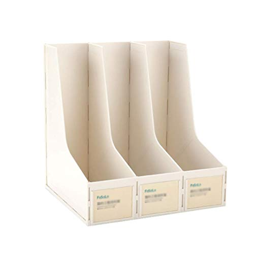 Schwarze Oberfläche, Home-office (O&YQ Zusammenklappbares Lagerregal, 4-Stufiges Bücherregal mit Bücherregal für Bücherregale aus Holz und Metallregal für Regalböden für Home Office, Schwarze Oberfläche)