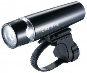 Batterie-LED-Leuchte CatEye HL-EL 010 schwarz (keine StVZO) , mit Halter