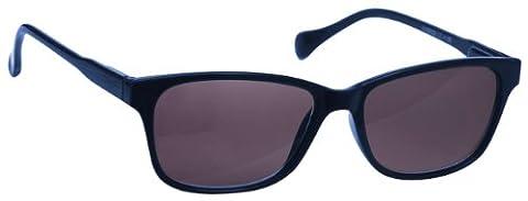 UV Reader Bleu Marine Léger Lecteurs Soleil Lunettes de Lecture Designer Style Hommes Femmes UV400 Inc étui UVSR027 Dioptrie +1,00