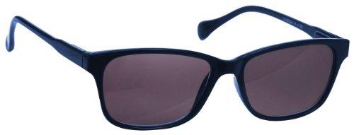 UV Reader Sonnen Lesebrille UV400 Marineblau +1.00 Dioptrien Designer Stil Damen Herren Leicht Komfortable UVSR027 mit Etui