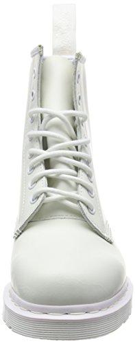 Dr. Martens 1460 Mono, Stivali Unisex – Adulto Bianco