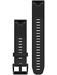 Garmin 010-12496-00 QuickFit 22 Silicone Band – Black