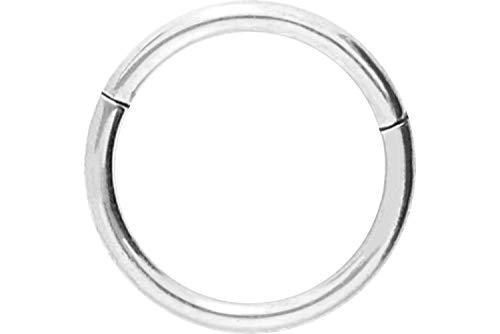 PIERCINGLINE Titan Segmentring Clicker   Piercing ✔ Septum ✔ Tragus ✔ Helix ✔   Farb & Größenauswahl