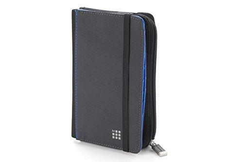 Moleskine Brieftasche Travelling zweiseitig paynesgrau (Brieftasche)