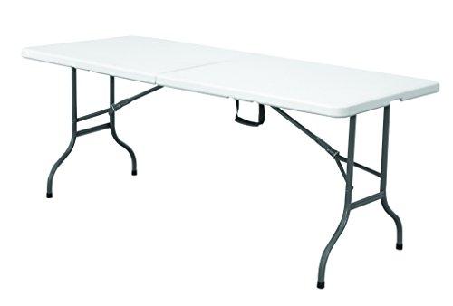 Original eXpand® Klapptisch - Falttisch, Gartentisch, Campingtisch - 180 x 74 x 73cm - Weiß