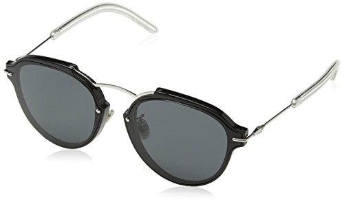 Dior Damen DIORECLAT P9 RMG 60 Sonnenbrille, Schwarz (Black Pallad/Grey)