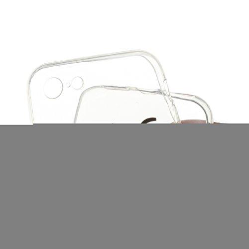 iPhone 7 Silicone Case,iPhone 7 Coque - Felfy Coque Souple Transparente Gel TPU Soft Silicone Case Motif Design Premium Ultra-Light Ultra-Mince Skin de Protection Anti-Choc Bumper Housse Case Etui pou FUCK