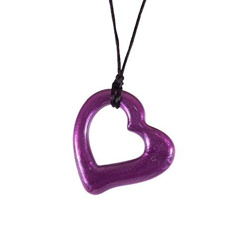 Miller Heart Chew Teething Pendant by Gumigem- Silicone Teething Jewellery 31ergJEA10L