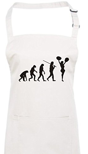 Krokodil Kochschürze Evolution Cheerleader Cheerleading Kostüm Fun Sport Tanz, Farbe (Tanz Choreographie Kostüme)
