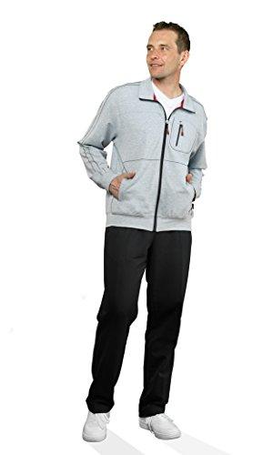 Michaelax-Fashion-Trade -  Pantaloni sportivi  - Basic - Uomo Black - Schwarz (090)