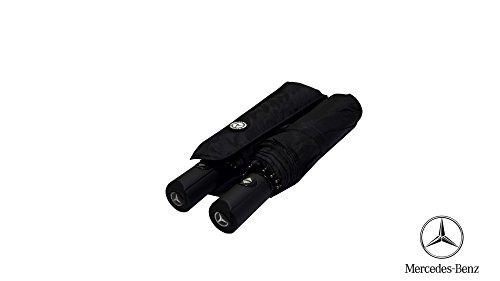 premium-quality-car-brand-folding-umbrella-brolly-large-windproof-fiberglass-automatic-mercedes-benz