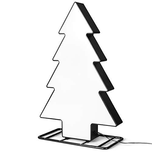 SnowEra LED Weihnachtsbeleuchtung außen | Dekoration für Weihnachten | Gartenleuchte als Weihnachtsbaum mit 30 LEDs | Höhe ca. 43 cm | Weihnachtsdeko für Garten Terrasse oder Balkon