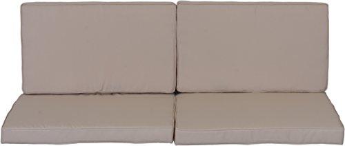 confronta il prezzo beo cuscino cuscino cuscino ricambio per gruppi di Monaco Set sostituzione impermeabile Set con 8Lounge, spessore 5cm, Beige Chiaro miglior prezzo