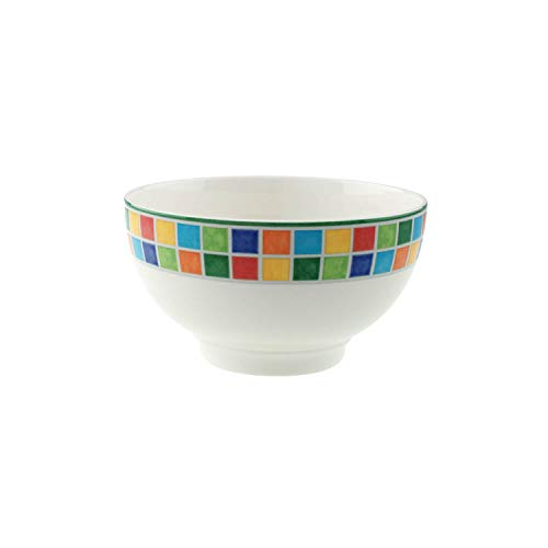 Villeroy & Boch Twist Alea Limone Bol, Porcelaine Premium, Blanc/Jaune