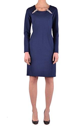 Blumarine BLUGIRL EZBC103030 Damen Blau Viskose Kleid