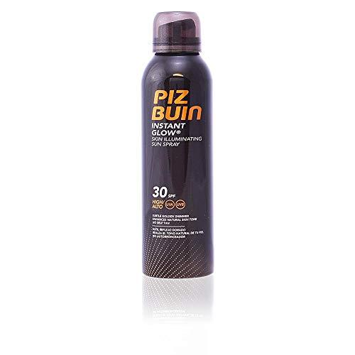 Piz Buin - Protección Solar, Spray Solar Instant Glow Piel Luminosa SPF 30 - Protección alta Spray 150 ml