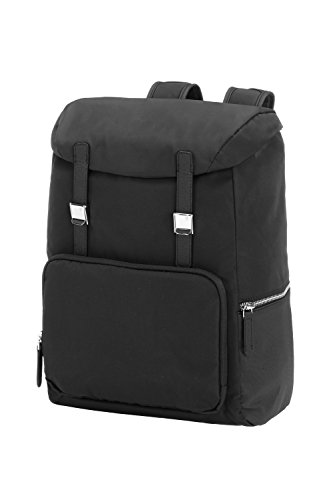 "Samsonite B-Supreme Travel Zaino 13.3"", Poliestere, Nero, 17 ml, 38 cm"