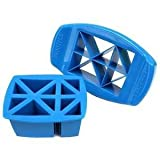 FunBites Food Cutter, Blue Triangles by FunBites