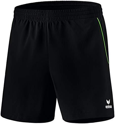 Erima Herren Tischtennis Short schwarz/Green S