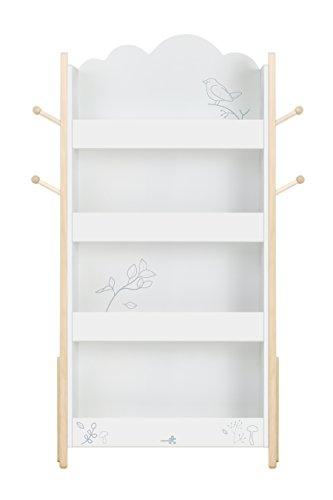 Labebe Kinder Bücherregal Weiß, Holz Standregal Weiß Für Kinder 1-5 Jahre Alt, Kinder Bücher...