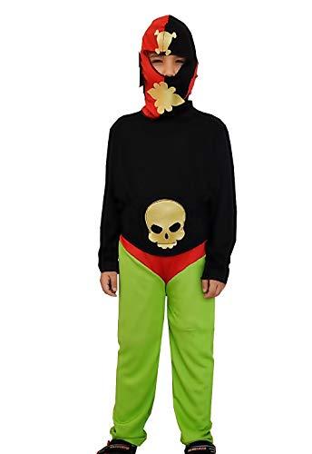 (Inception Pro Infinite (Größe 14 - 16 Jahre) Karneval kostüm - Wrestling Wrestler - Kinder - Karneval - Halloween - Verkleidung - Cosplay - Geschenkidee)