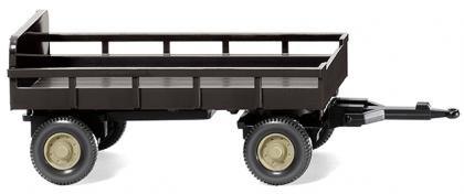 Wiking 086903 Landwirtschaftlicher Anhänger - braun (1:87)
