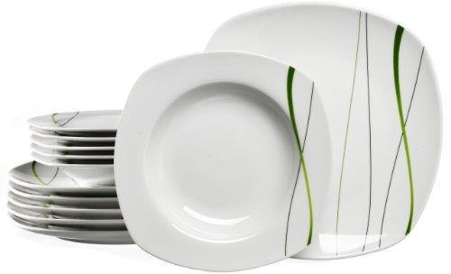 Ritzenhoff & Breker Tafelservice Grace, 12-teilig; Porzellangeschirr (Service Plate)