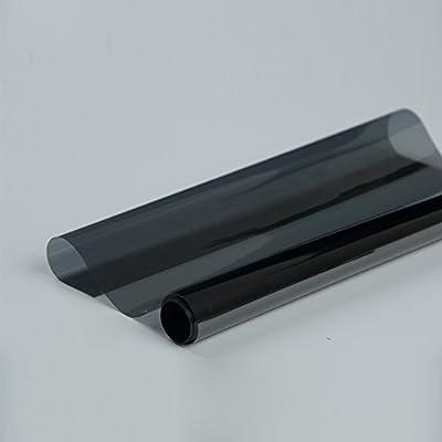 Hoho VLT 30% pulvérisation solaire film pour vitre arrière de voiture côté lunette arrière réflexion de la chaleur film 152,4cm X98ft Rouleau