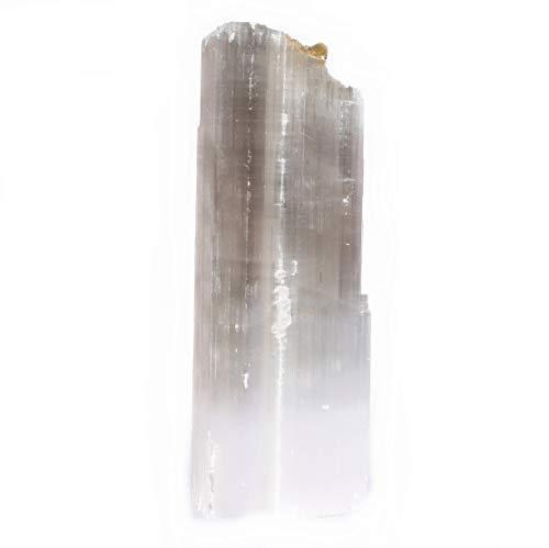 Crystal Cut Cross (Green Cross Toad Selenit Satin Spar Base Cut Natural Mineral Specimen Energy Tower 1 kg (2))