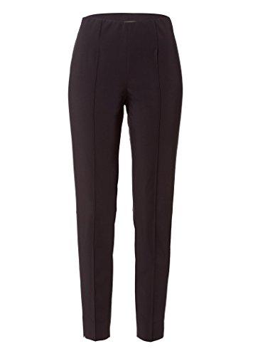 BASLER Stretch-Hose mit Bügelfalten Schwarz