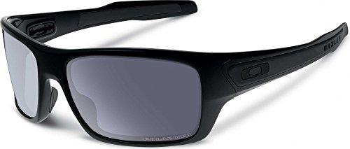 Preisvergleich Produktbild Oakley–Sonnenbrille–Turbine Herren–Matte Black Grey Dunkelblau