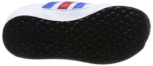 adidas , Baskets pour garçon - White/Red/Blu