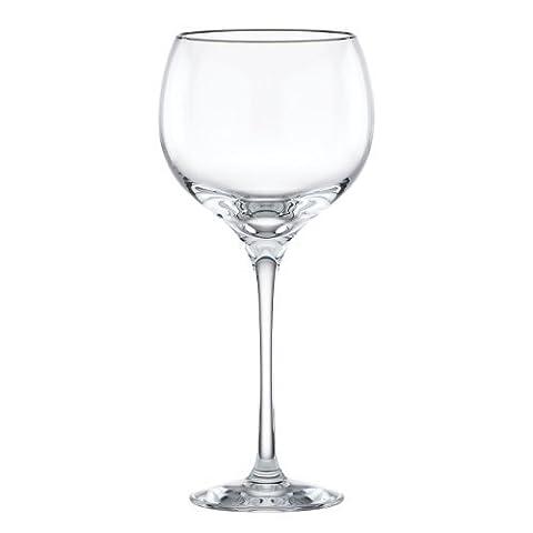 Lenox Solitaire Platinum Signature Crystal Goblet by Lenox