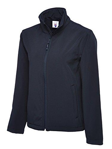 Uneek Classic Full Zip Softshell Jacket Navy