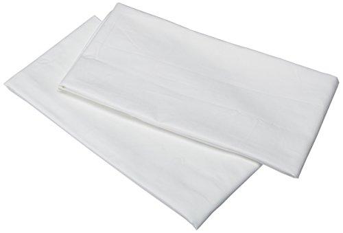 TRIBECA Living 750Fadenzahl Ägyptische Baumwolle Kissenbezüge Set, King Size, Weiß