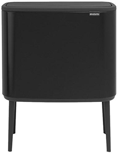 Brabantia - 315824 - Poubelle Bo Touch Bin, 36 litres, Noir mat