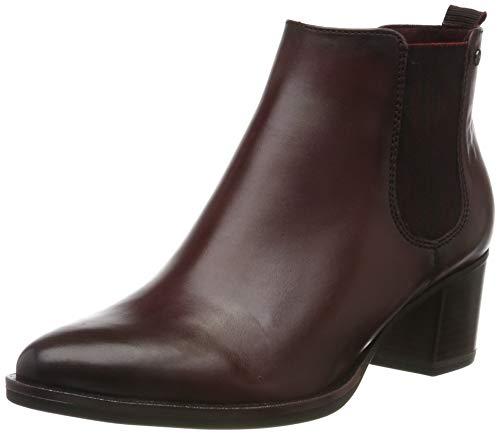 Tamaris Damen 1-1-25001-23 Chelsea Boots, Rot (Bordeaux 549), 40 EU