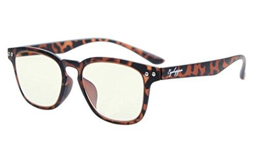 Eyekepper Vintage Flex leggero in plastica telaio del computer Occhiali Lettori di occhiali Tortoise +3.0 - Tortoise Plastica Occhiali