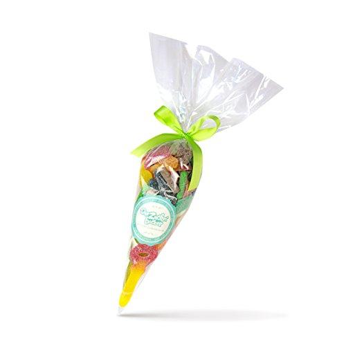 Preisvergleich Produktbild Sauerstoff - eine prall gefüllte Süßigkeiten-Tüte mit nur sauren Fruchtgummis ,  Deine Kiosktüte aus alten Kindheitstagen mit 300 Gramm besten Fruchtgummis