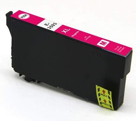 Cartuccia compatibile per Epson wf-4720dwf wf-4725dwf wf-4740dtwf wf-4730dtwf - Magenta - 150 pagine - t3593