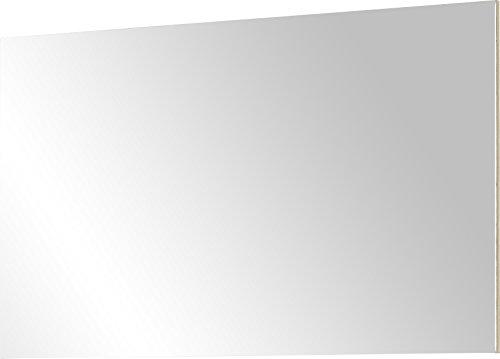 Germania 3472-228 rahmenloser Spiegel GW-Lissabon in Edelbuche-Nachbildung, 96 x 60 x 3 cm (BxHxT)