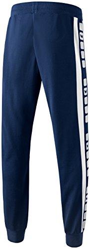 Erima, Pantaloni sportivi 5-Cubes Blu (New Navy/Weiß)