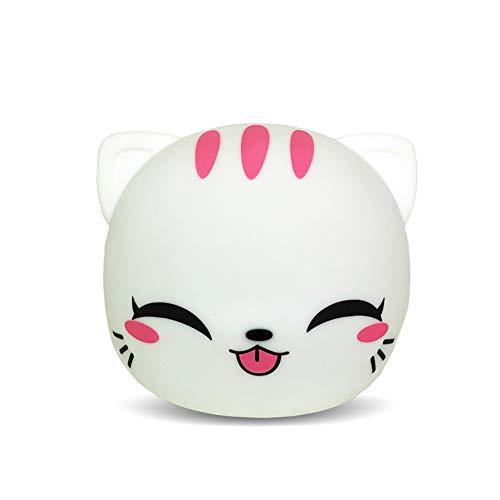 Bling LED Nursery Night Lights tragbare und wiederaufladbare Nachtlicht Cute Kitty Decor Geschenke für Kinder