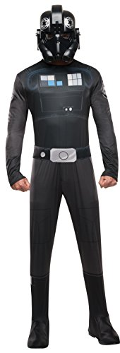 Adult Tie Fighter Pilot Fancy dress costume Standard