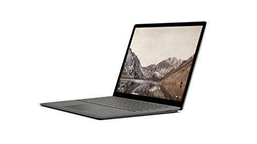 Microsoft 34,29 cm (13,5 Zoll) Surface Laptop (Intel Core i5, 256GB Festplatte, 8GB RAM, Intel HD Graphics 620, Win 10 S) Graphit Gold