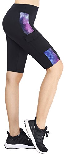 Sugar Pocket Womens Athletic Pants Workout Yoga Leggings Fitness Tights XL