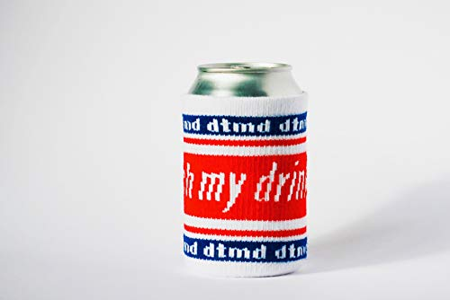 don't touch my drink Dosenkühler, Bier Cover, Getränkemarkierung, Drink Fashion, Koozie dtmd - für 0,33 l Dosen und Flaschen -