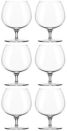 Libbey Renaissance Brandy-Glas, 450 ml, ideal für Dekoration und für den täglichen Gebrauch. 6